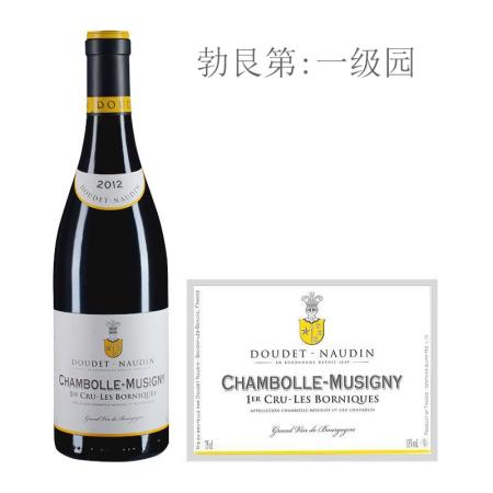 2012年诺丁酒庄博尼克(香波-慕西尼一级园)红葡萄酒