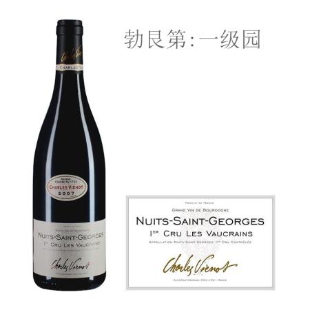 2007年威洛酒园维克(夜圣乔治一级园)红葡萄酒