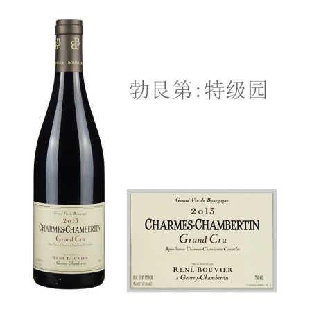2013年雷尼布威尔酒庄(香牡-香贝丹特级园)红葡萄酒