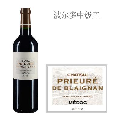 2012年普乐碧朗城堡红葡萄酒