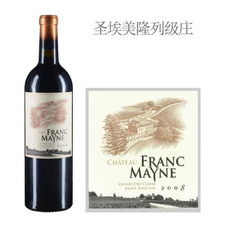 2008年富美诺酒庄红葡萄酒