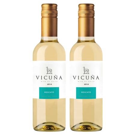 干露羊驼莫斯卡托白葡萄酒375ml双支(小瓶装)