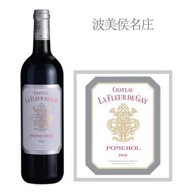 2016年盖伊之花酒庄红葡萄酒