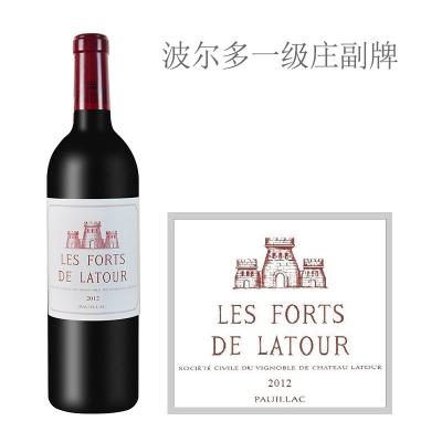 2012年拉图堡垒红葡萄酒