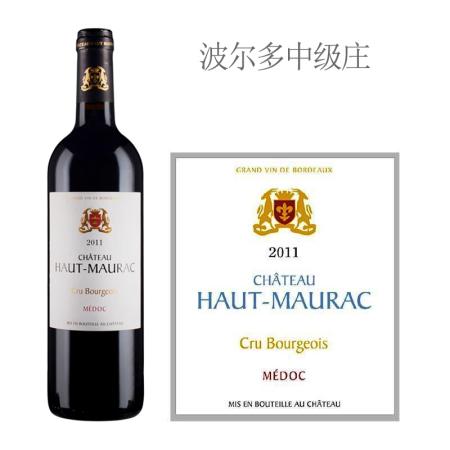 2011年上莫拉克酒庄红葡萄酒