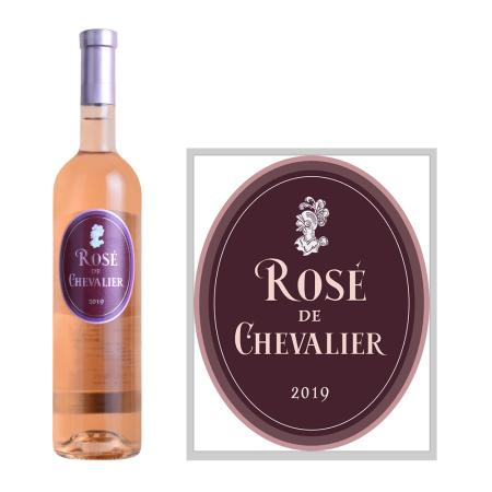 2019年骑士酒庄桃红葡萄酒
