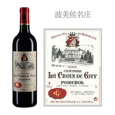 2009年盖伊十字酒庄红葡萄酒