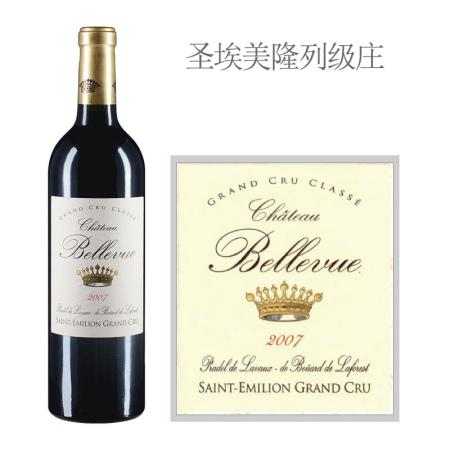 2007年美景酒庄红葡萄酒
