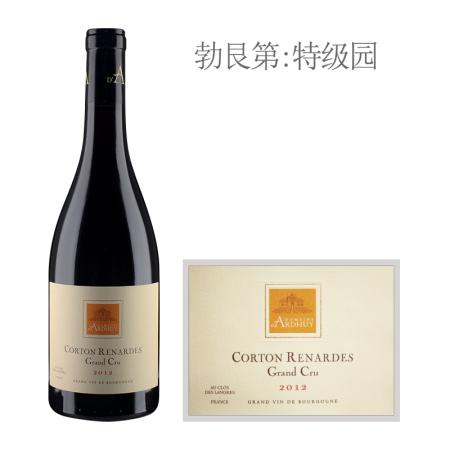 2012年达哈瑞酒庄雷纳德(科尔登特级园)红葡萄酒