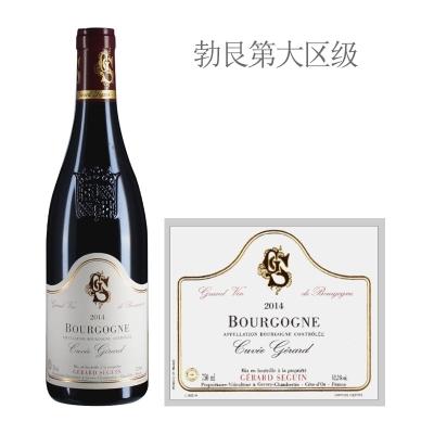 2014年赛甘酒庄吉拉德特酿红葡萄酒