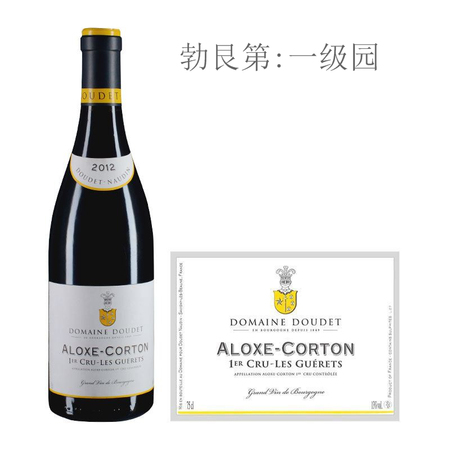 2012年诺丁酒庄古雷特斯(阿罗克斯-科尔登一级园)红葡萄酒