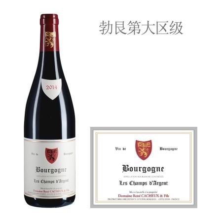 2014年雷卡父子酒庄香安茹红葡萄酒
