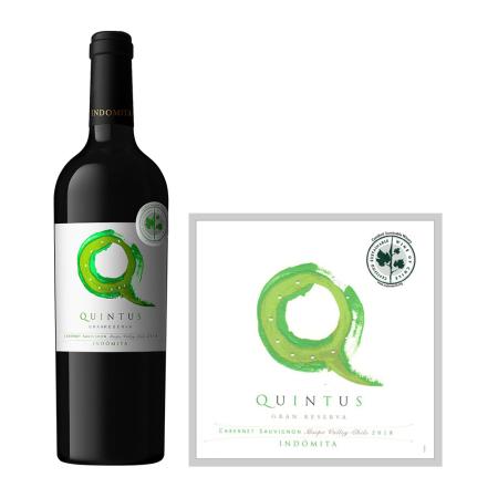 2018年魔狮绿园赤霞珠珍藏干红葡萄酒