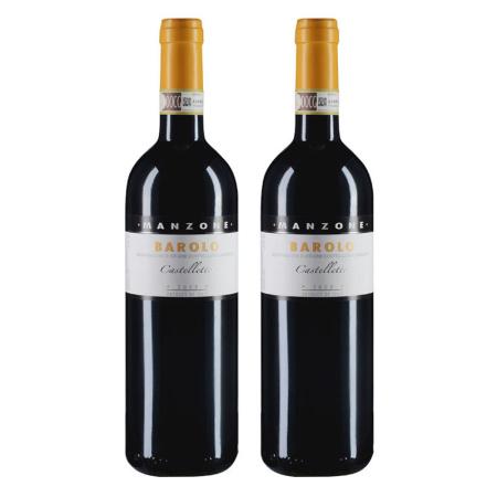 【双支套装】2008年曼卓酒庄凯特罗特巴罗洛红葡萄酒