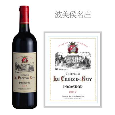 2017年盖伊十字酒庄红葡萄酒