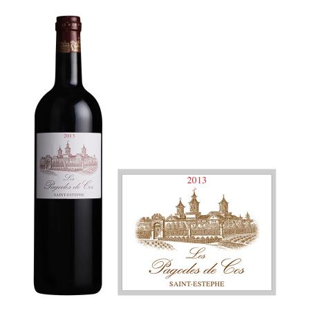 2013年爱士图尔庄园宝塔红葡萄酒