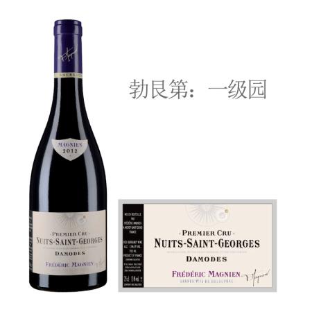 2012年马尼安达摩(夜圣乔治一级园)红葡萄酒