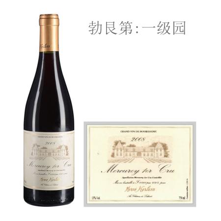 2008年柯兰(梅尔居雷一级园)红葡萄酒