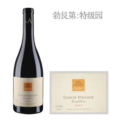 2012年达哈瑞酒庄(伏旧特级园)红葡萄酒
