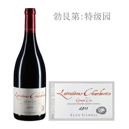 2011年亚力士甘宝酒庄(拉奇希尔-香贝丹特级园)红葡萄酒