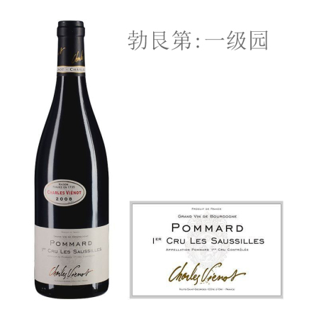 2008年威洛酒园绍姿(玻玛一级园)红葡萄酒