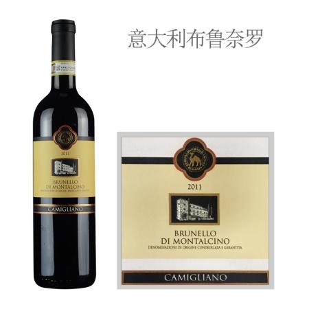 2011年卡米利诺布鲁奈罗红葡萄酒