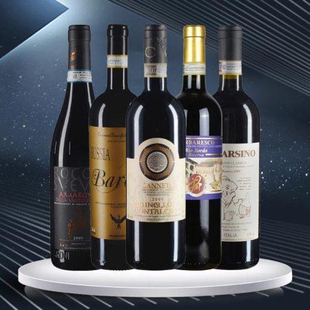 意大利ABBBC五大经典名酒套装(2009年)