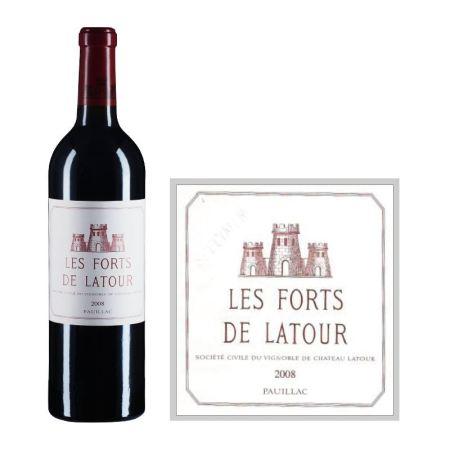 2008年拉图堡垒红葡萄酒