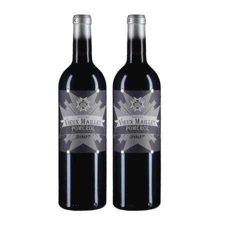 【双支套装】2007年老梅耶酒庄红葡萄酒