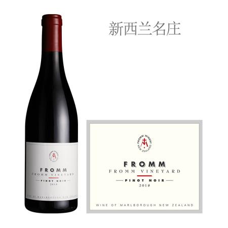 2018年芙朗酒庄芙朗园黑皮诺红葡萄酒