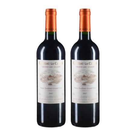 【双支套装】2007年克洛特酒庄红葡萄酒
