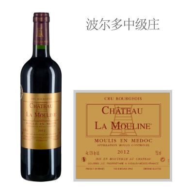 2012年慕琳尼酒庄红葡萄酒