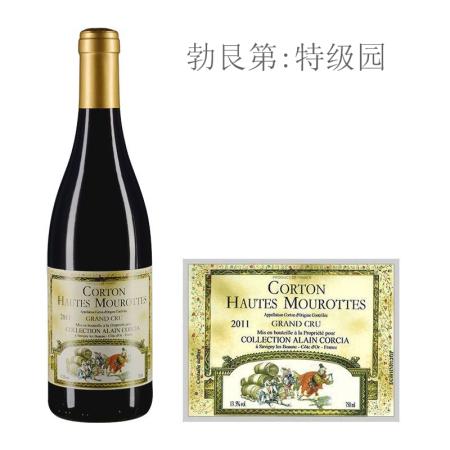 2011年科奇亚酒庄上莫洛(科尔登特级园)红葡萄酒