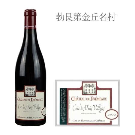2012年普希茂酒庄(夜丘村)红葡萄酒
