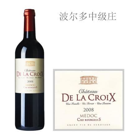 2008年十字城堡红葡萄酒