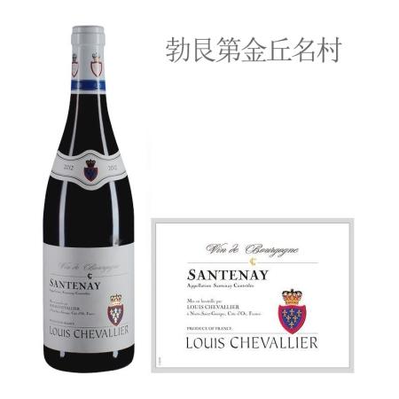 2012年路易骑士酒庄(桑特奈村)红葡萄酒