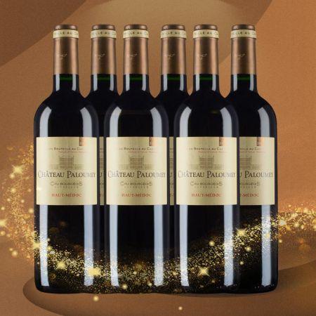 【六支套装】帕洛美城堡红葡萄酒