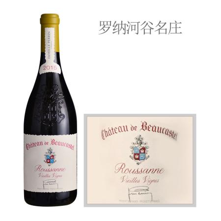 2015年博卡斯特尔老藤瑚珊白葡萄酒