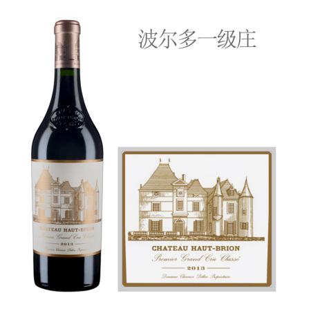 2013年侯伯王庄园红葡萄酒