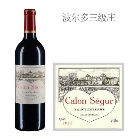 2012年凯隆世家庄园红葡萄酒