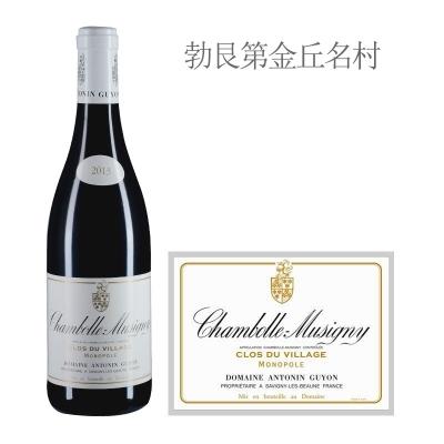2013年古永酒庄维拉奇(香波-慕西尼村)红葡萄酒