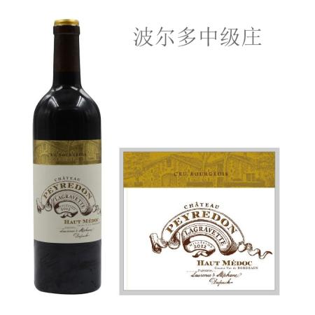 2012年佩顿酒庄红葡萄酒
