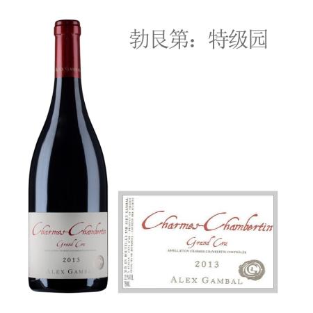 2013年亚力士甘宝酒庄(香牡-香贝丹特级园)红葡萄酒