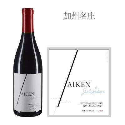 2012年艾肯黑皮诺红葡萄酒