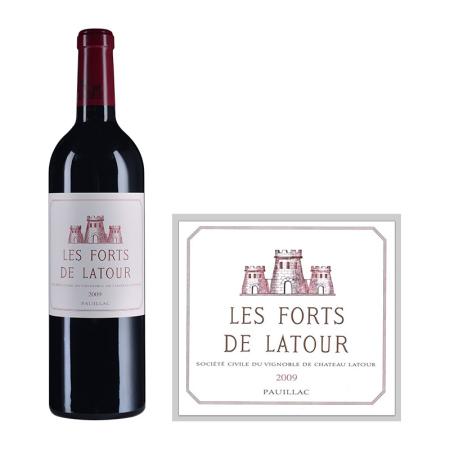 2009年拉图堡垒红葡萄酒