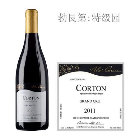 2011年科奇亚酒庄(科尔登特级园)红葡萄酒