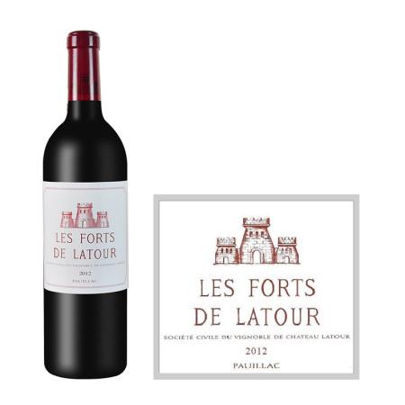 2012年拉图堡垒(小拉图)红葡萄酒