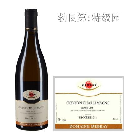 2012年戴布雷酒庄(科尔登-查理曼特级园)白葡萄酒