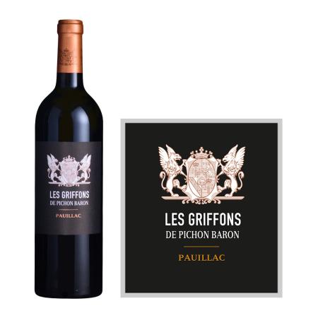 2020年男爵古堡狮鹫红葡萄酒