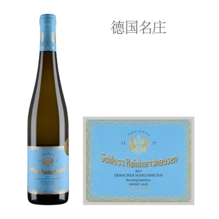 2015年莱茵豪森城堡马布朗特级园雷司令晚收白葡萄酒